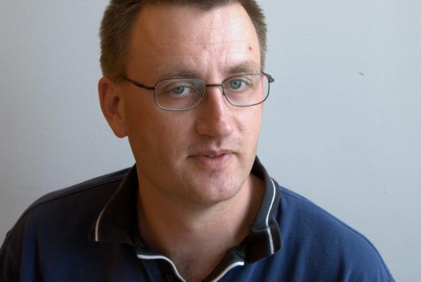 Porträttfoto på Stefan Pettersson.